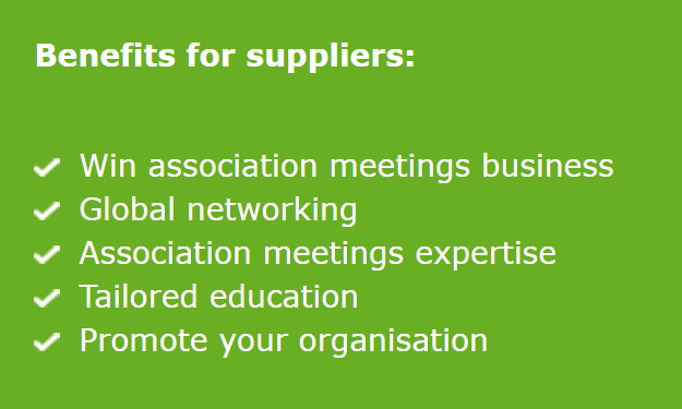 ICCA Benefits for suppliers